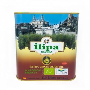 Lata Aceite Oliva Virgen Extra Ecológico 2,5L