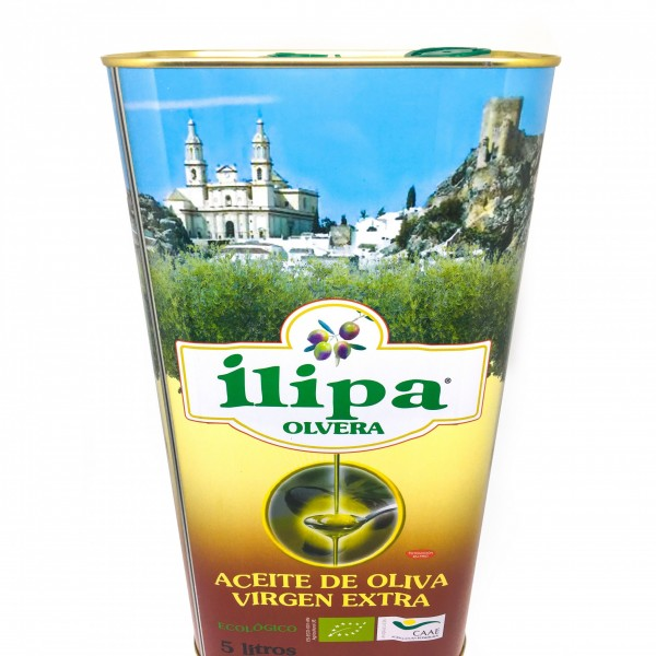 Lata Aceite Oliva Virgen Extra Ecológico 5L