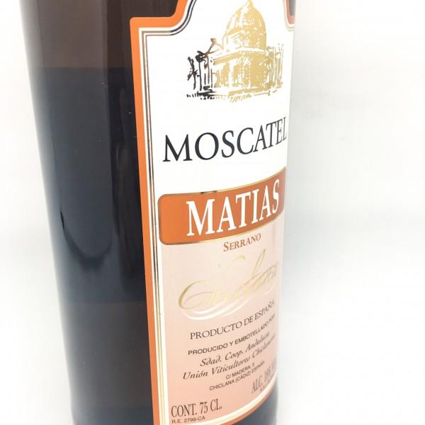 Vino Moscatel Matias Serrano