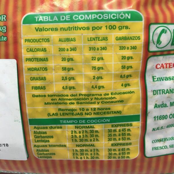 Alubia Canela Extra 3kg