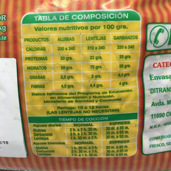 Alubia Canela Extra 5kg
