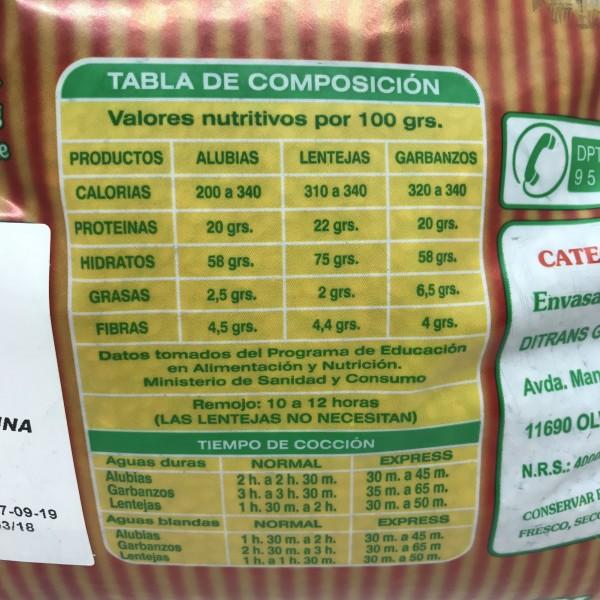 Lenteja Salmantina Extra 3kg