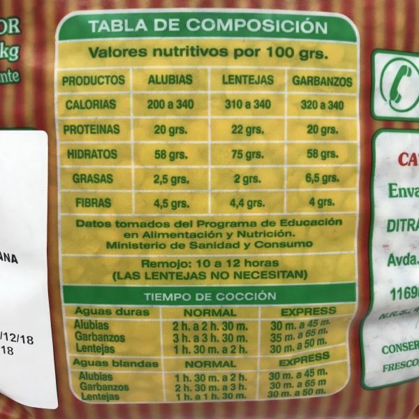 Lenteja Castellana 3kg